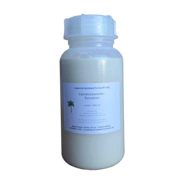 carnauba emulsion concentrate bottle 1 liter